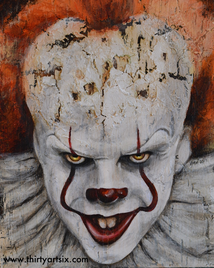 IT. Painting by Heather M Morris